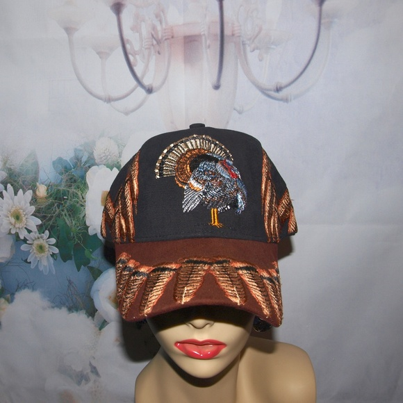 Mountain Lake Other - Turkey Hunter Hat Thanksgiving Hat NWT